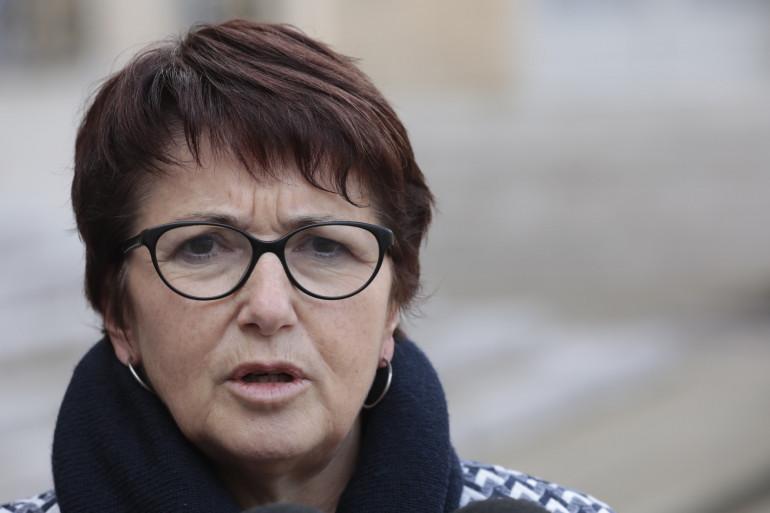 Christiane Lambert, présidente de la FNSEA, en février 2019