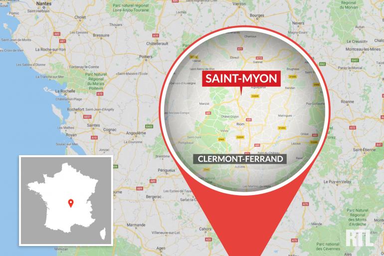 La ville de Saint-Myon dans le Puy-de-Dôme