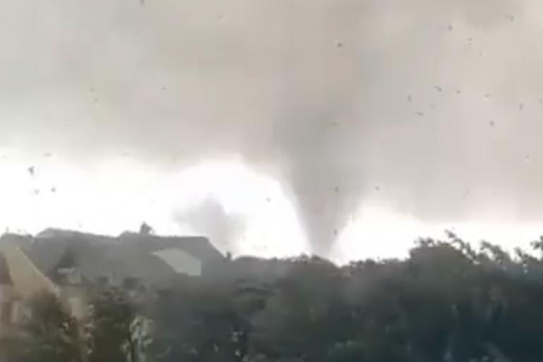 La tornade est passée sur les communes de Bacharage et Pétange au Luxembourg (Illustration)