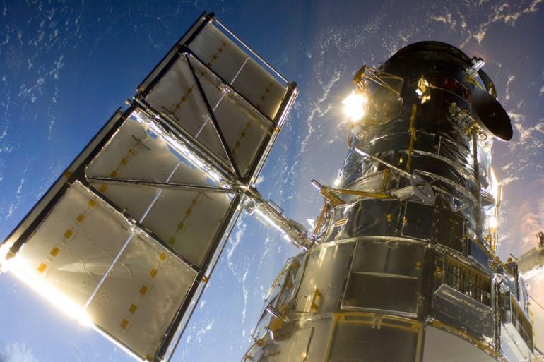 Le télescope Hubble, pris en 2009
