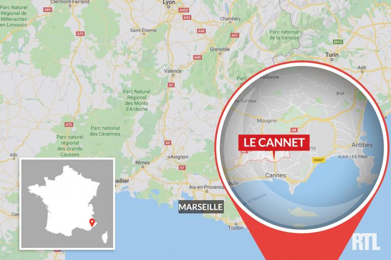 Carte Le Cannet