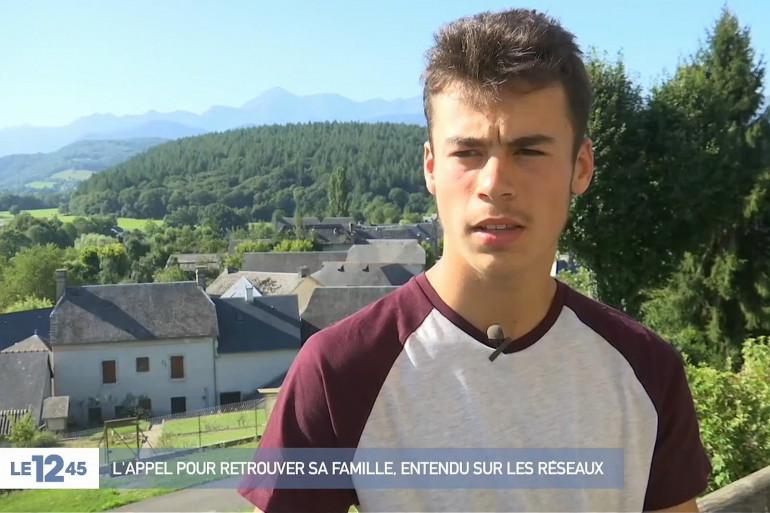 Grâce aux réseaux sociaux, Loïc retrouve sa famille après 10 ans de séparation