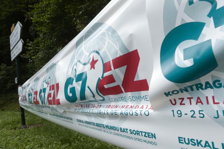Le contre-sommet à Hendaye débutera le 19 août avec l'installation des organisations.