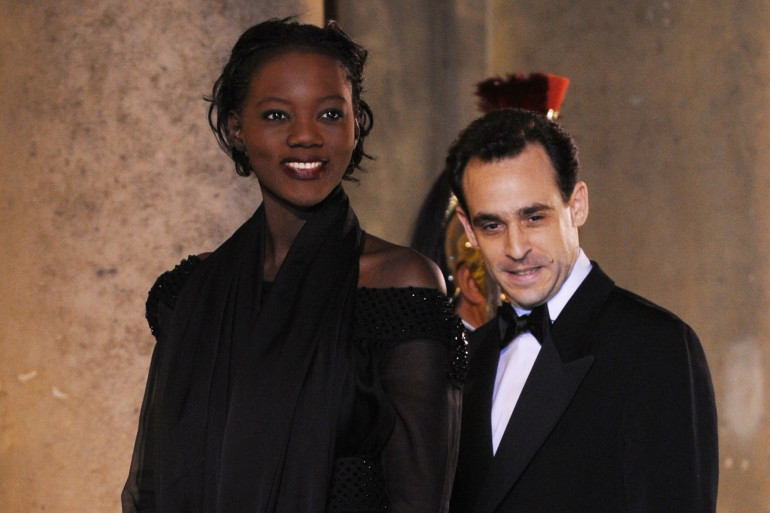 Joseph Zimet et son ex-femme Rama Yade en 2008