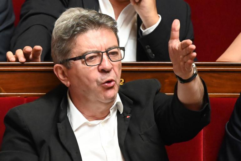 Jean-Luc Mélenchon le 25 juin 2019 à l'Assemblée