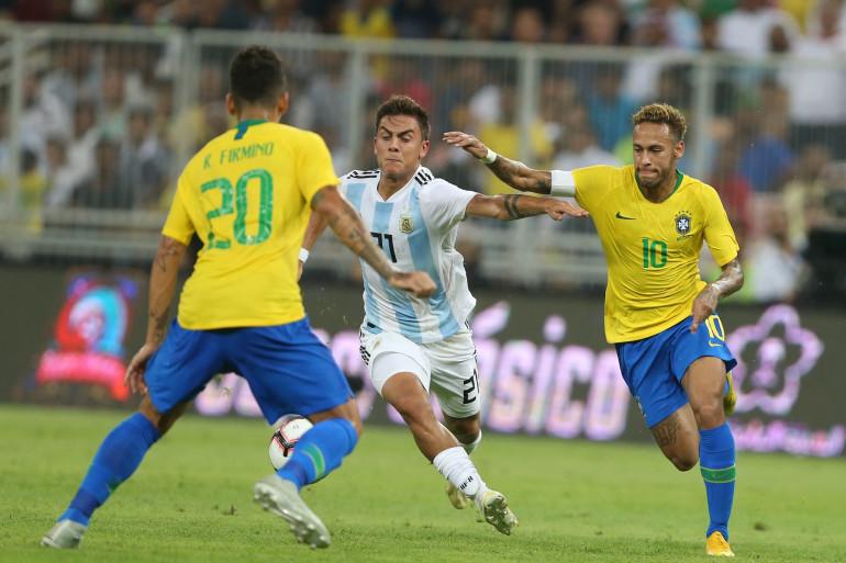 Neymar et Dybala, 2018