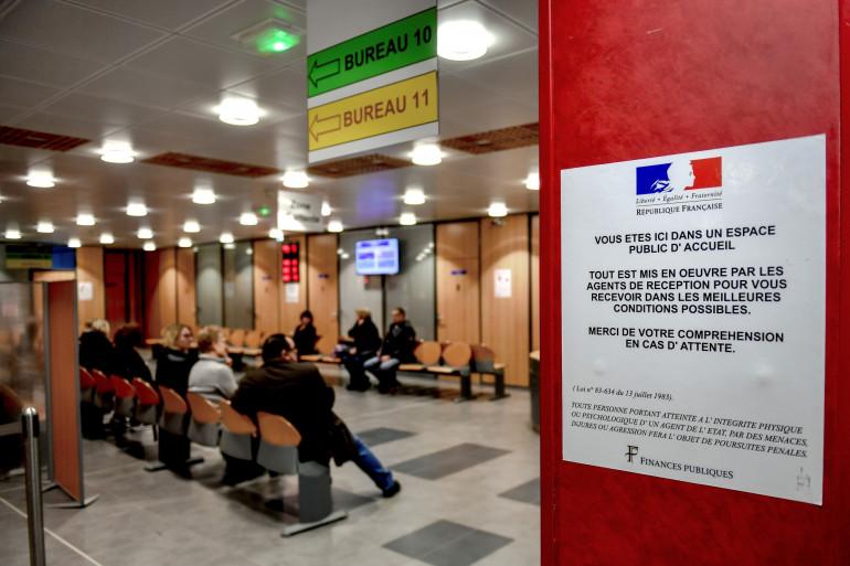 Un centre des impôts à Amiens (illustration)