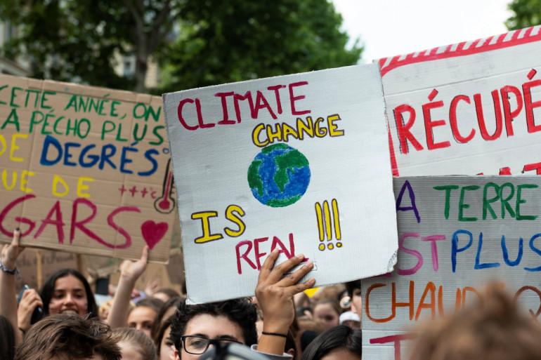 Manifestation pour le climat à Paris (Mai 2019)