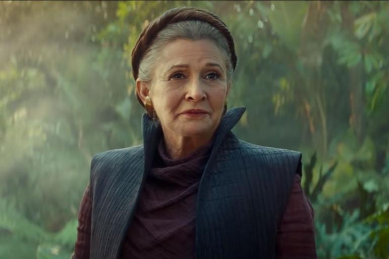 """Leia Organa (Carrie Fisher) dans """"Star Wars : L'Ascension de Skywalker"""""""