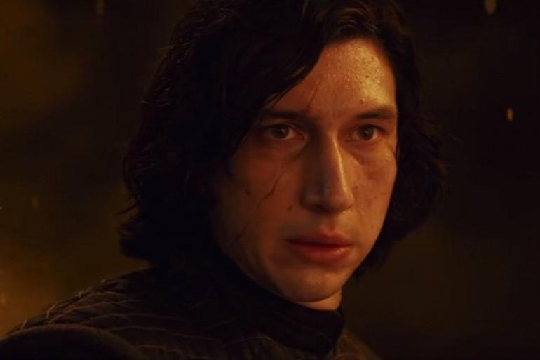 Kylo Ren dans la bande annonce de Star Wars : The Last Jedi