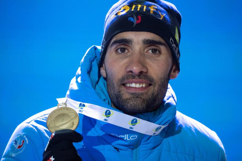 Martin Fourcade à Anterselva le 19 février 2020