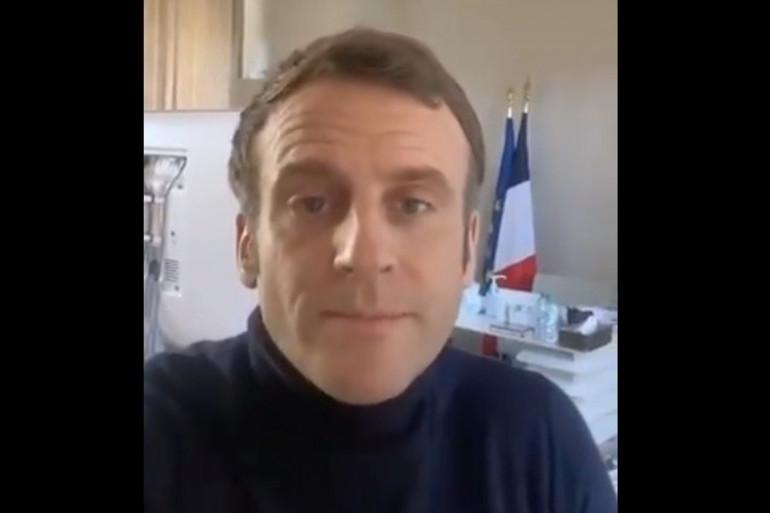 Emmanuel Macron donne des nouvelles sur sa santé vendredi 18 décembre 2020