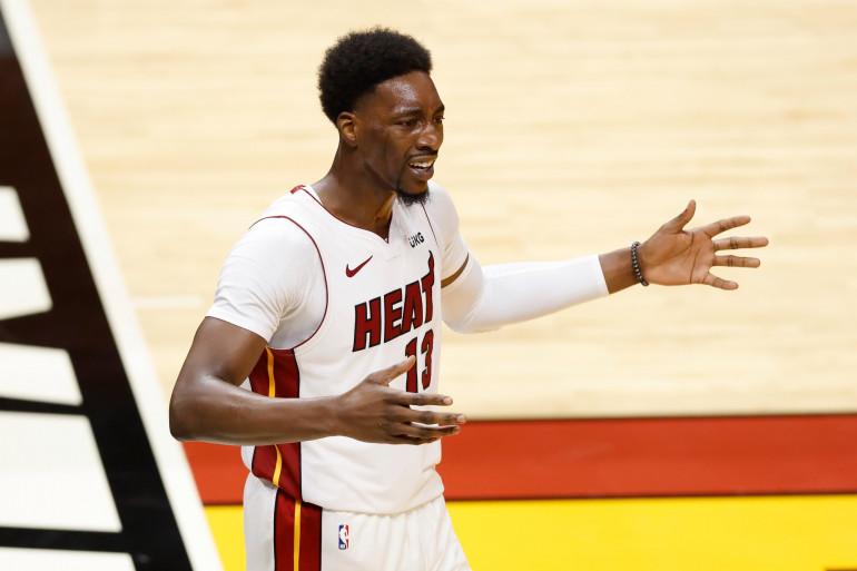 Le basketteur américain Bam Adebayo le 14 décembre 2020