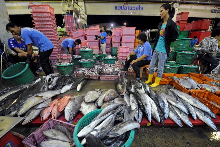 Le marché de Malachaï, en juillet 2011 (illustration)