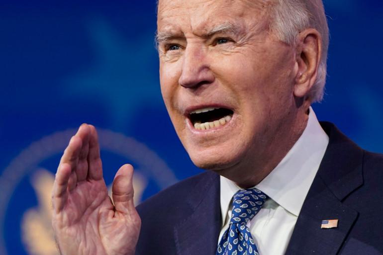 Joe Biden le 22 décembre 2020 à Wilmington
