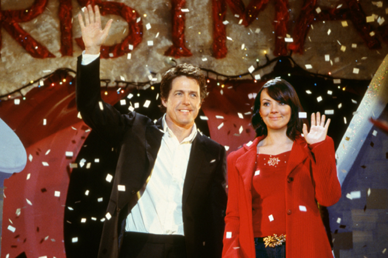 """""""Love Actually"""" est l'un des classiques de Noël"""