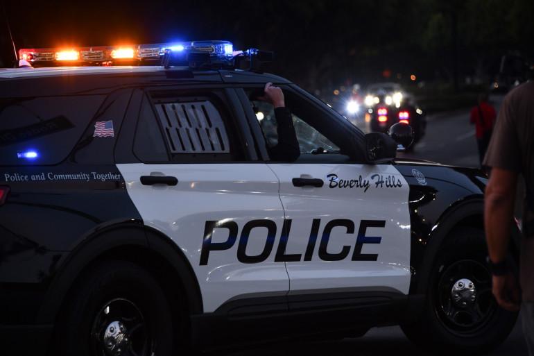 La police aux États-Unis (illustration).