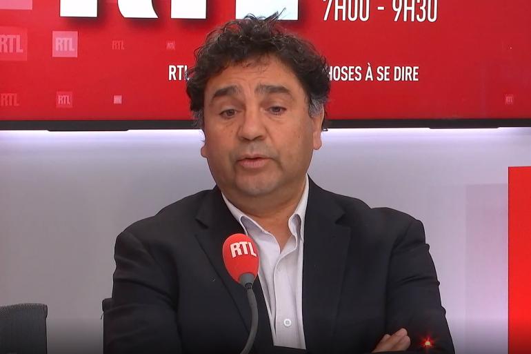 Le Professeur Djillali Annane, chef du service réanimation à l'Hôpital Raymond-Poincaré à Garches (AP-HP), invité RTL du 30 janvier 2021