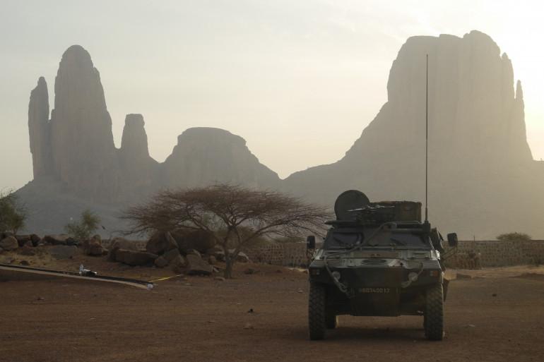 Un véhicule de l'armée française au Mali (illustration)