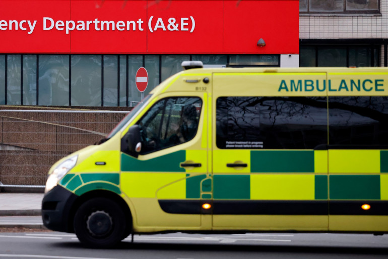 Une ambulance à Londres (illustration)