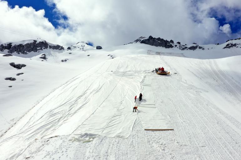 La station de ski de Pellizzano, en Italie (illustration)