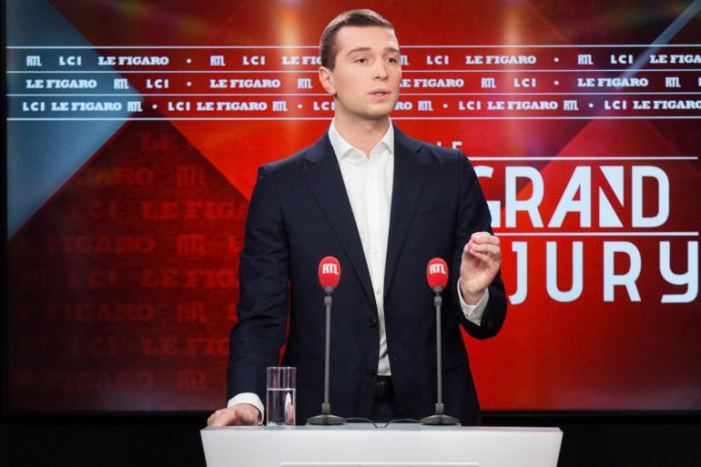 Jordan Badella sur le plateau du Grand Jury le 3 janvier 2021
