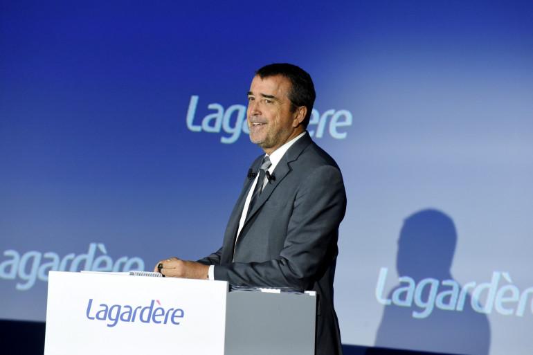 Le groupe Lagardère est dirigé par Arnaud Lagardère