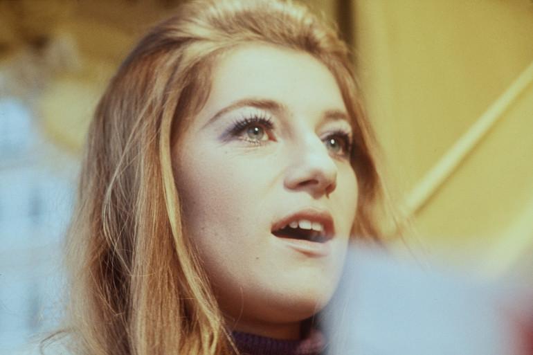 Sheila en décembre 1970