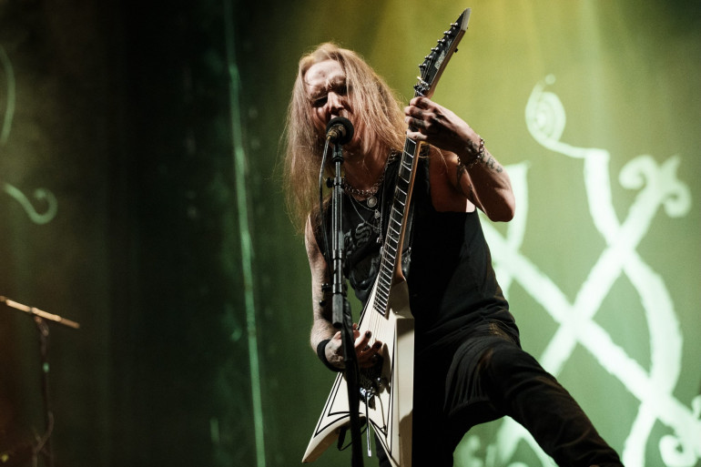 Alexi Laiho, leader du groupe finlandais de métal Children of Bodom