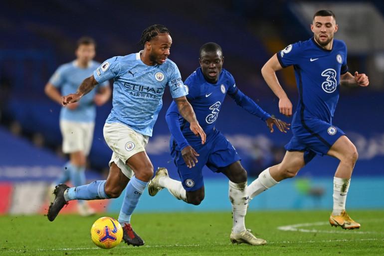 Manchester City face à Chelsea le 3 janvier 2021 en Premier League