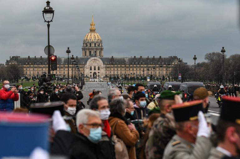 L'hommage aux 3 militaires français tués au Mali le 28 décembre 2020.