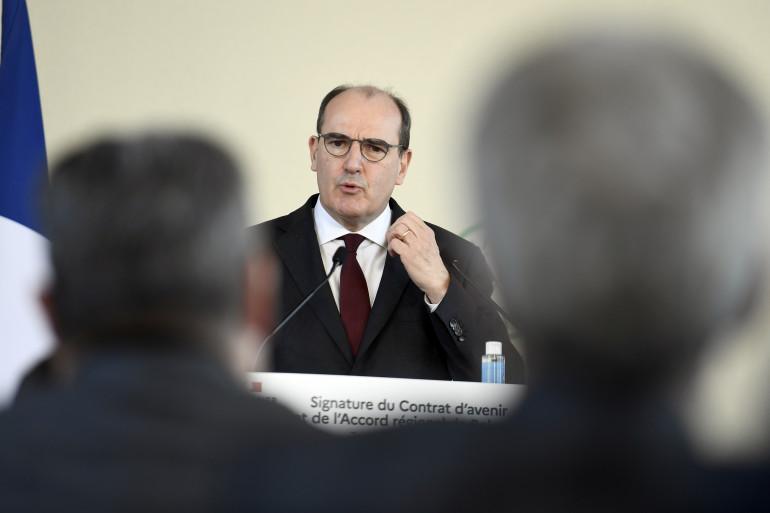 Le Premier ministre Jean Castex le 5 janvier 2021 à Toulon