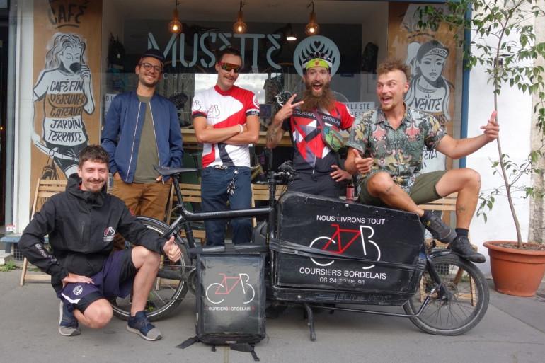 Les Coursiers Bordelais est une coopérative de livraison à vélo
