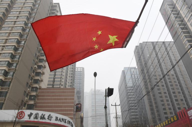 Illustration d'une rue de Shijiazhuang, en Chine