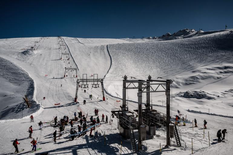 La station de ski des Deux-Alpes en Isère