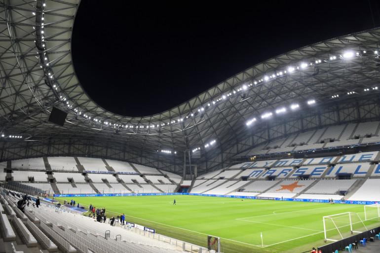 Le stade Vélodrome à Marseille en novembre 2020