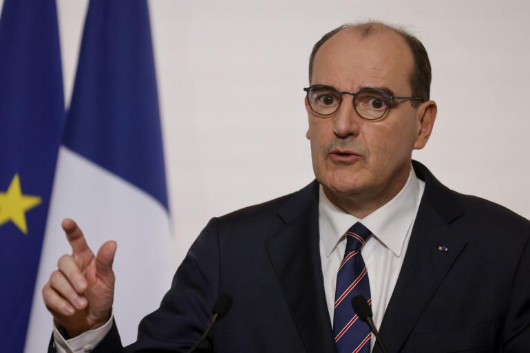 Le Premier ministre Jean Castex lors du point presse du 7 janvier 2021