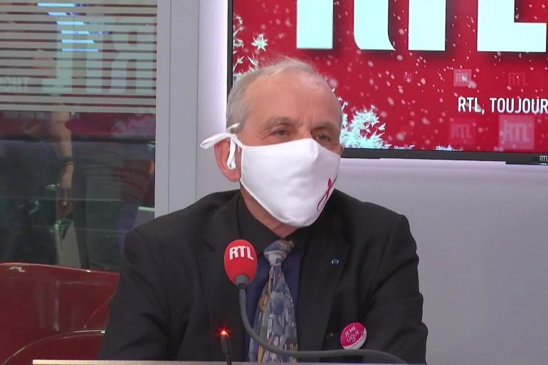 Axel Kahn dans RTL Soir le 8 décembre 2020