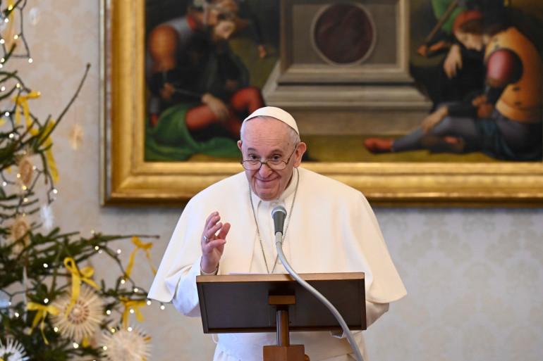 Le pape François le 6 janvier 2021