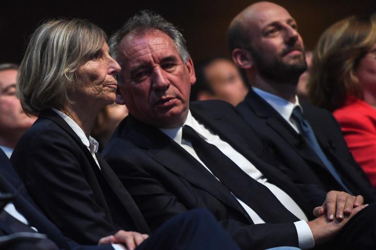 Marielle de Sarnez et François Bayrou, le 24 mai 2019