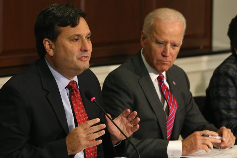 Ron Klain, déjà aux cotés de Joe Biden en 2014