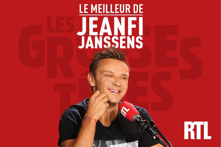 """Podcast - Le meilleur de JeanFi Janssens dans """"Les Grosses Têtes"""""""