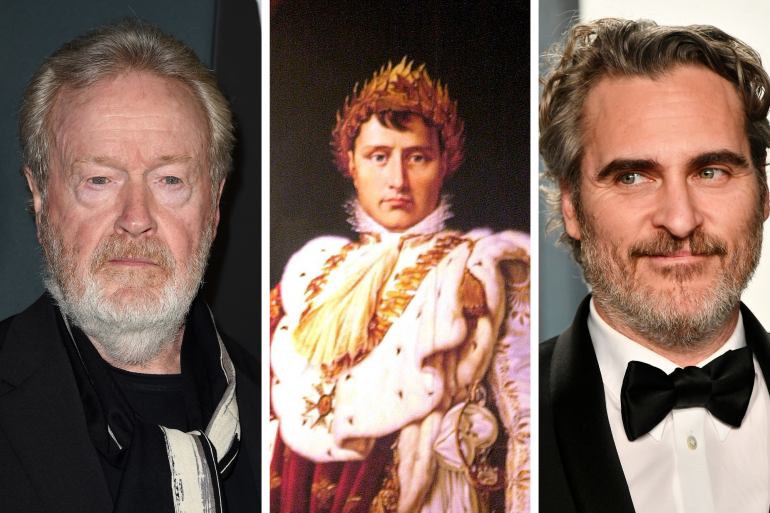 Ridley Scott prépare un film sur Napoléon avec Joaquin Pheonix