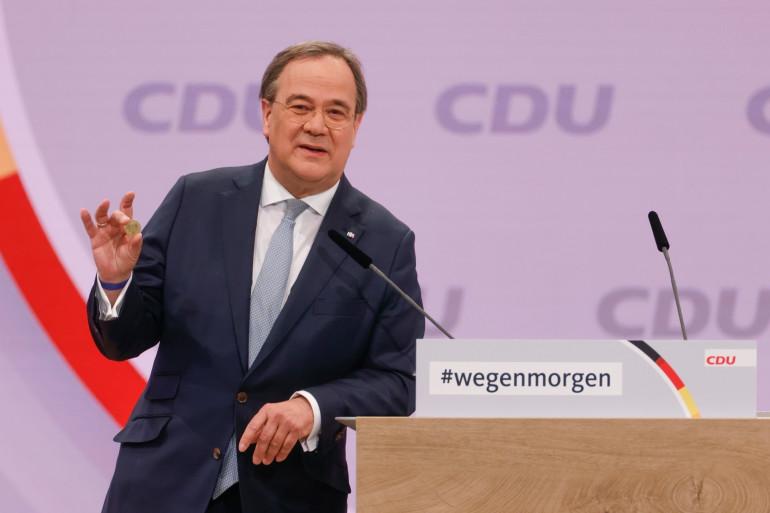 Armin Laschet a été élu président de l'Union chrétienne-démocrate (CDU) ce samedi 16 janvier à Berlin (Allemagne).