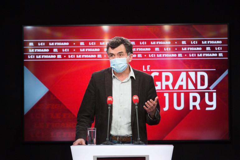 Arnaud Fontanet invité du Grand Jury le 17 janvier 2021