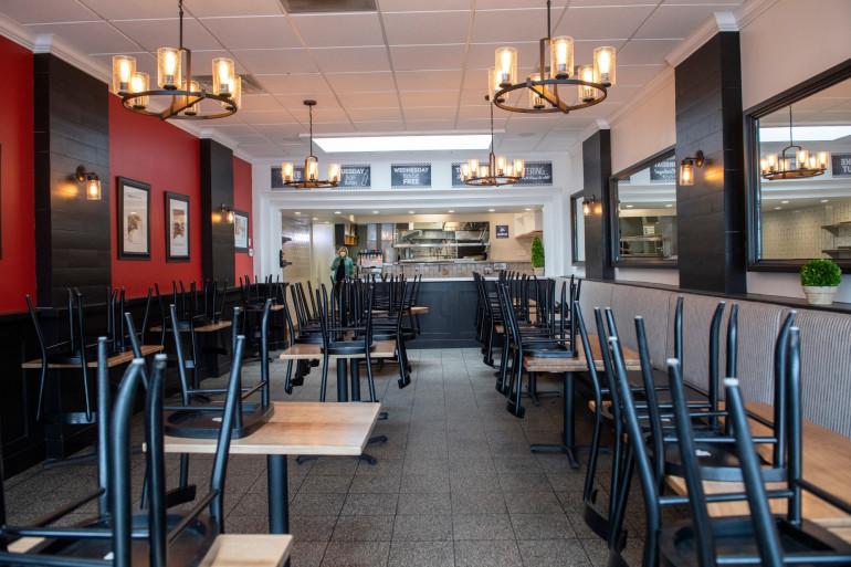Un restaurant vide (illustration)
