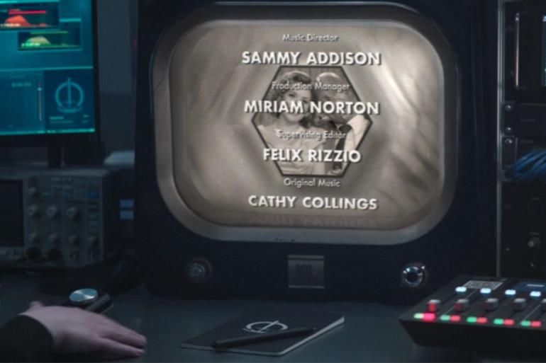 """La fin du premier épisode de """"WandaVision"""""""