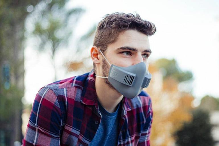 Le masque ventilé xHale de la startup française xRapid promet plus de confort que les masques traditionnels