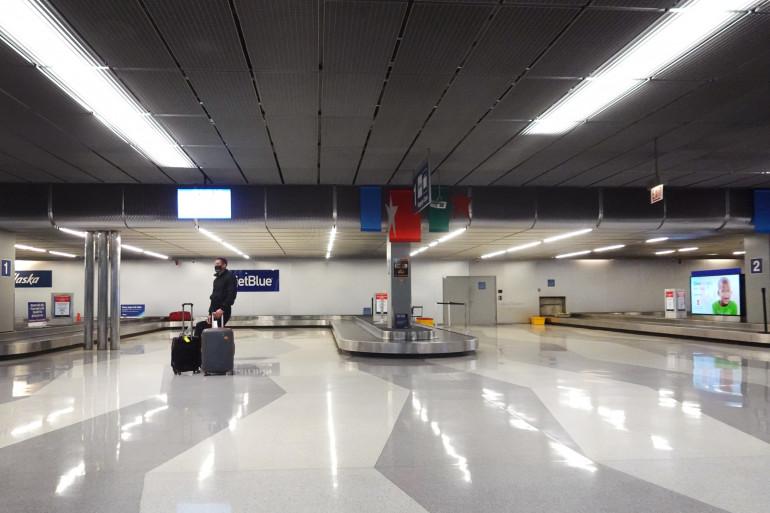 L'aéroport de Chicago dans l'Illinois (illustration).