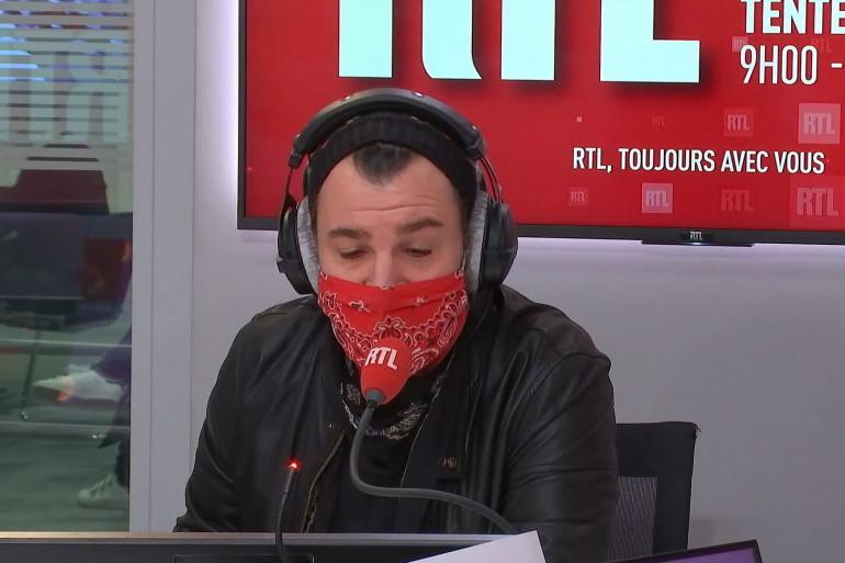 Michaël You au micro de RTL, le 19 janvier 2021